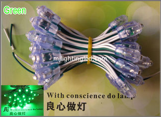China 9mm LED exposed light string LED pixel module light for sign and channel letter Green Color supplier