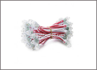 China 50 pcs/lot DC5V 12mm RED Led Module String Waterproof Digital RED IP68 LED Pixel Light Christmas decoration supplier