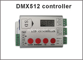 China DMX512 RGB LED controller for fullcolor led programmable light supplier