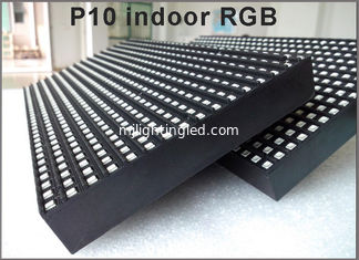 China Indoor P10 rgb display module 3in1 SMD 1/8 scanP10 LED panel for Advertising media LED Display supplier