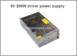 China 5V 40A 200W Switching power supply for LED Strip light AC to DC LED transfermers supplier
