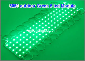 China Waterproof 12V LED module light 5050SMD 5LEDS modules light for led channel letters supplier