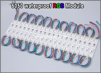 China 20pcs LED 5050 RGB Module 12V waterproof  led modules lighting for led backlight supplier