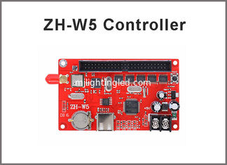 China U disk Wifi led control card ZH-W5 128*1280,256*640 pixels led monochrom,rgb,dual panel control system supplier