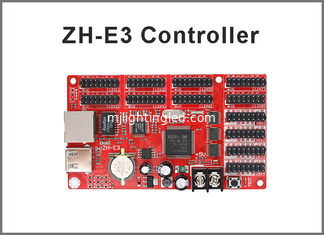 China LED Display Controller Card ZH-E3 Network+USB Port 4*HUB08 & 8*HUB12 1024*64 Pixels Single & Dual color supplier