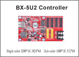 China 64*1024 pixel Onbon LED control card BX-5U2 single/dual color control card with USB port for outdoor led panel supplier