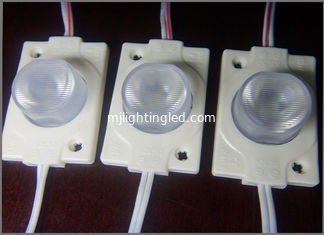 China LED SMD3030 module 1.5W high power waterproof injection with lense supplier