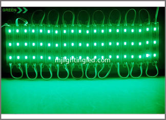 China 5730 LED Pixel module light 20pcs/string 3led modules Green color supplier