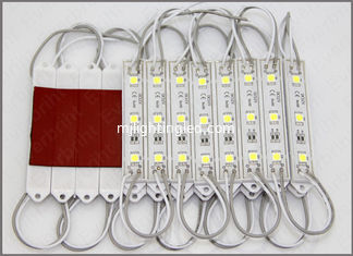 China 3led 5050 SMD Linear Sign module 12v 0.8W/pcs for led channel letters supplier