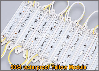 China Waterproof 5054 module of yellow chain 12v led lamp advertising lighting Sign Led Backlights For Channel Letter supplier