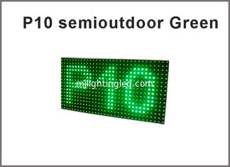 China 5V P10 led display module led screen panel 320*160 semioutdoor display board supplier