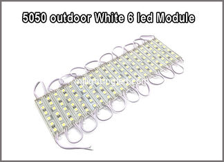 China 5050 White SMD Module light 6led modules led letter backlight supplier