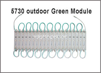 China 5730 Pixel LED module light green color led advertising channel letters supplier