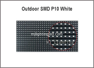 China Outdoor P10-SMD white color  panel light for outdoor advertising message supplier
