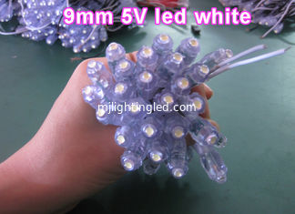 China 9mm LED pixel light white color 5V/12V dot light for led letter signs supplier