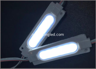 China waterproof high power 12VDC 5730 6LED injection led module with lenz for sign supplier