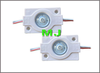 China 1.5w DC12v 3030 Injection LED Module With 160degree lens LED backlight module light supplier