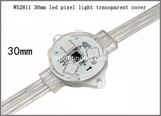 China 30 mm led point light DC12V WS2811 pixel light IP68 made in China supplier