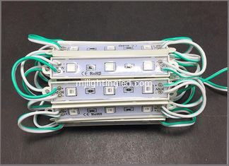 China LED 5050 3led module light 12v sealing glue led module 2 years warranty for building signs supplier