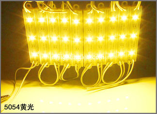 China 12V LED Advertising Light Module SMD 5054 3-chips LED Module for channel letters supplier