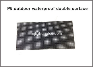 China New products Outdoor P5 RGB LED Module waterproof double surface 320*160MM ,64*32 Pixels 1/8 Scan LED display screen supplier