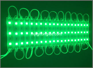 China DC12V led modules 5050 green linear modules waterproof light for signs IP67 supplier