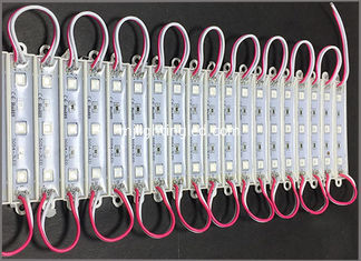 China DC12V LED backlight modules 5050 waterproof red light for led channel letters supplier