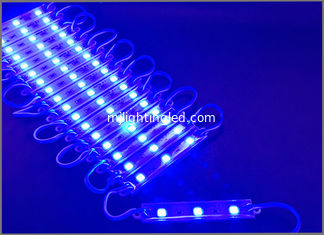 China 5050 SMD 3 LED modulo blue modules light 12V waterproof  for led channel letters supplier