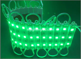 China DC12V Illuminated channel letters module 5050 green linear modules waterproof light for signs IP67 supplier