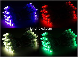China 12MM 5V Digital RGB LED Pixel String Light 12mm Individually Addressable For Entertainment Decoration supplier
