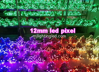 China 12mm 5V Fullcolor rgb pixel light for illuminated signs supplier