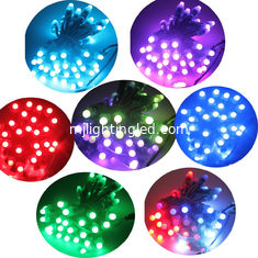 China 12mm 9mm rgb Pixels lights colorcharging led dot light for colorful lighting signs supplier