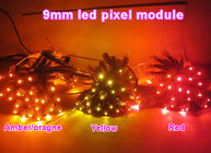High brightness led point light decoration & advertising signsled backlight channel letters Orange/ Yellow /red
