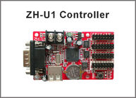 5V ZH-U1 programmable led display control system RS232+USB port single color:1024*32;672*48 dule color 512*32,320*48
