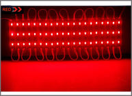 Super Bright injection molding 5730 red LED Module 3 LEDS Light Waterproof For LED Channel Letter Advertising Sign