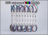 20pcs LED 5050 3 LED Module 12V waterproof RGB Color changeable led modules lighting for backlight sign