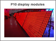 320*160mm 32*16pixels P10 outdoor led digital sign board red color P10 led message display led sign
