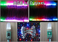 China 5V 12mm Fullcolor LED Singolo Verde led signage outdoor color change advertising signs building decoraion factory