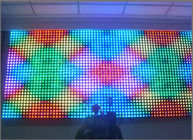 China 12mm RGB Full Color Pixels dot light Digital Addressable LED String Light 5V IP68 wall message display screen board factory