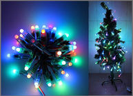 China 5V Fullcolor LED Party light 50PCS 1903IC RGB 12mm Pixels digital Addressable String Christmas tree decoration company