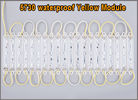 20PCS Brightest yellow 5730 3 LED Module Decorative Light for Letter Sign Advertising