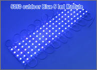 5050 LED Modules Waterproof IP67 Led Modules DC12V SMD 5 Leds Backlights For Channel Letters Blue color