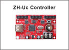 China ZH-Uc LED Control Card P10 LED Screen module led Controller USB port 512*48,768*32 pixels 3*hub12 port control system factory