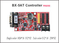 China BX-5AT control card RS232 Serial Port ONBON led controller for single&double color led display factory