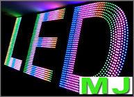 Adddressable fullcolor rgb led pixel modules light DC5V LED  light waterproof IP67 for advertising light
