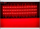 China 5730 SMD Power modules 3 LED 12V module light waterproof IP67 red color for channel letter lighting factory