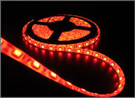 China 60led 5050 led strips light 12V 5m/lot waterproof IP65 house decoration string light Red color factory