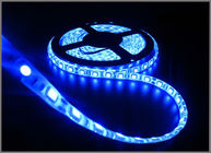 China LED strip light 5050 5m 300 LED 60led/m waterproof  IP65 waterproof 12V flexible light 5050 LED strip tape Blue color factory