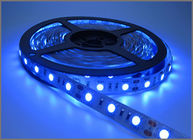 China Ribbon Led Tape Flexible Blue LED Light Strip IP20 12V 5050 SMD 60leds 300 LEDs 60leds/M Holiday Light factory
