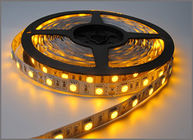 China 5050 SMD led Strip Bar light String holiday Lights 60leds/m DC12V Yellow strips led factory